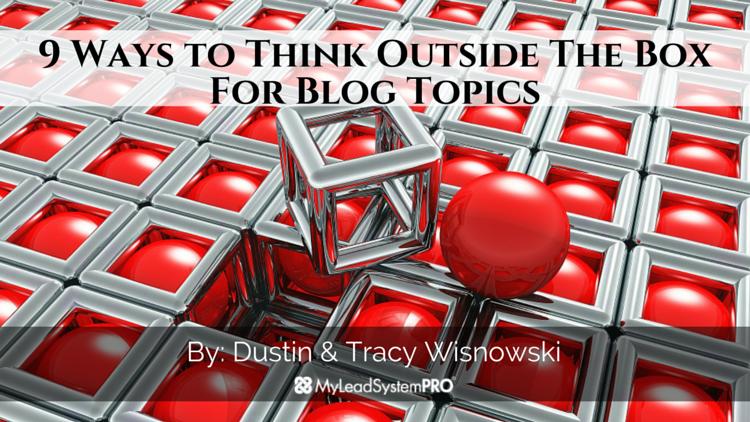 Blog Content - 9 Blog Content Ideas