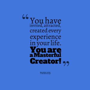 a masterful creatot