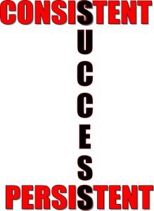 consistent-persistent-success