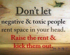 negative and toxic people