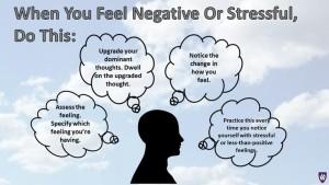 when you feel negative