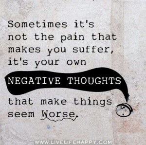 negative thougts