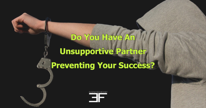 Unsupportive partner