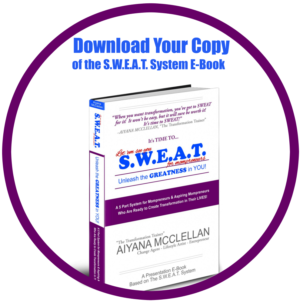Download Your Copy of The SWEAT System Ebook   Let 'Em See You SWEAT