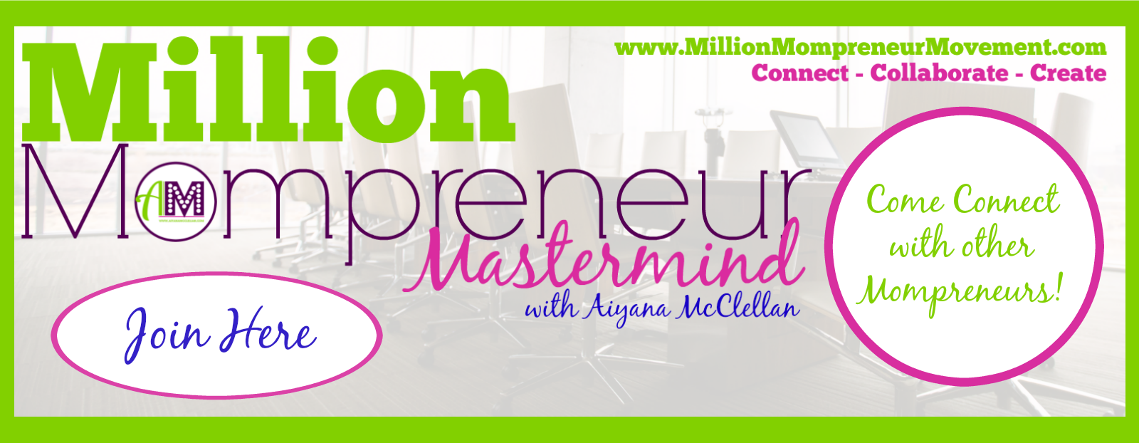 Join the Million Mompreneur Mastermind Facebook Group