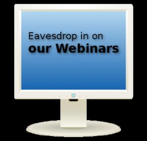 eavesdrop on Webinars