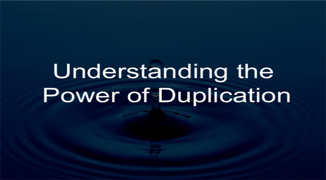Duplication and Leverage