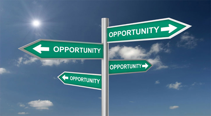 Opportunity…Who's There?