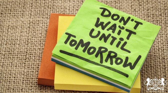 Procrastination Curse