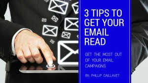 3 tips for email marketing