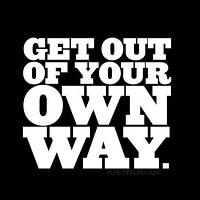 Get out of your own way – Jamie Shaw's Marketing Show