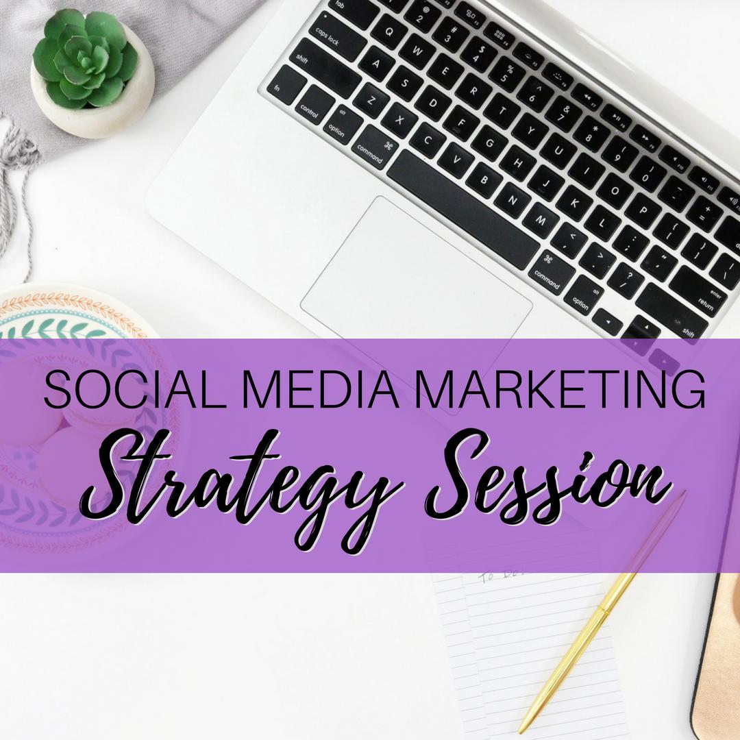 Social Media Marketing Audit + Strategy Session