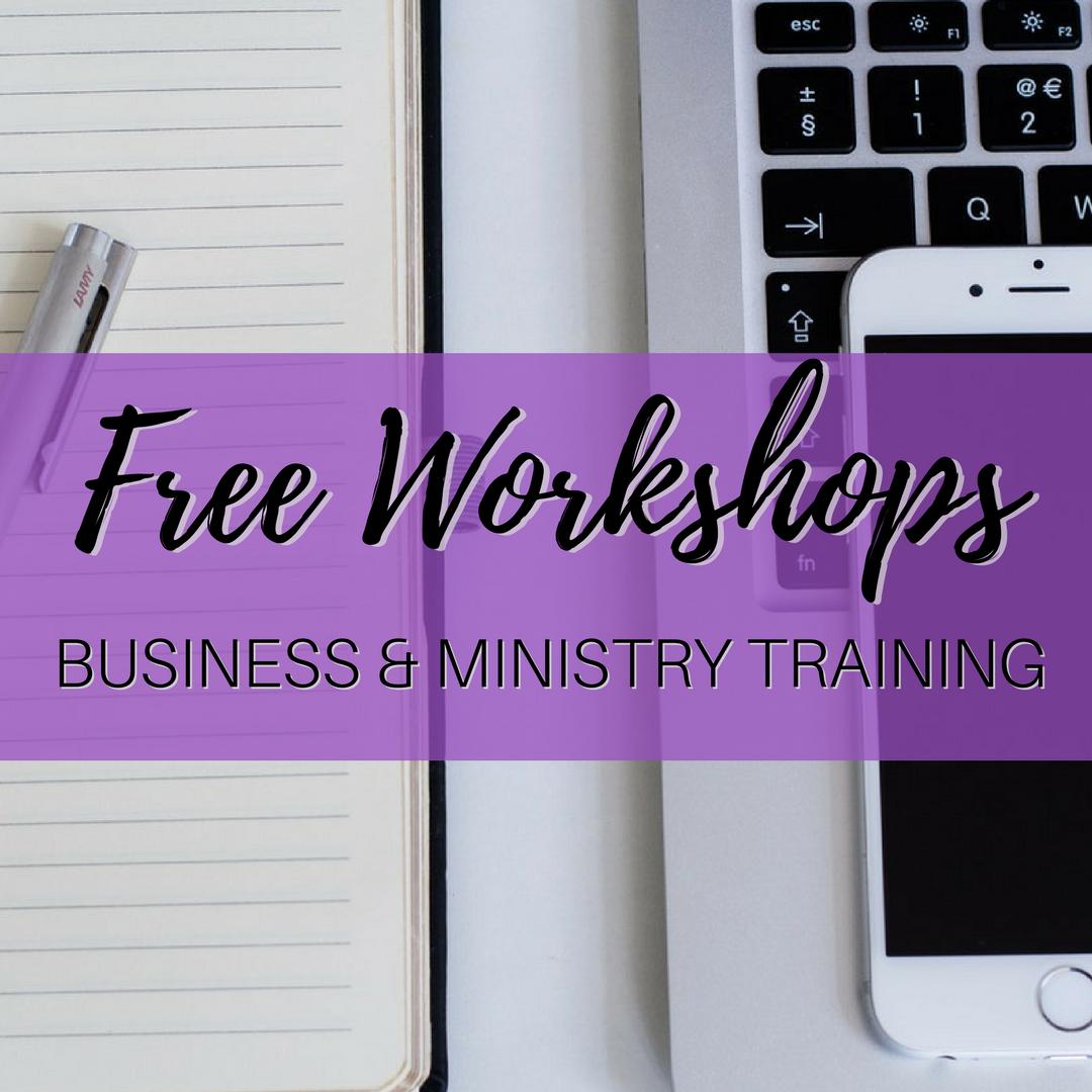 HCH Free Workshops
