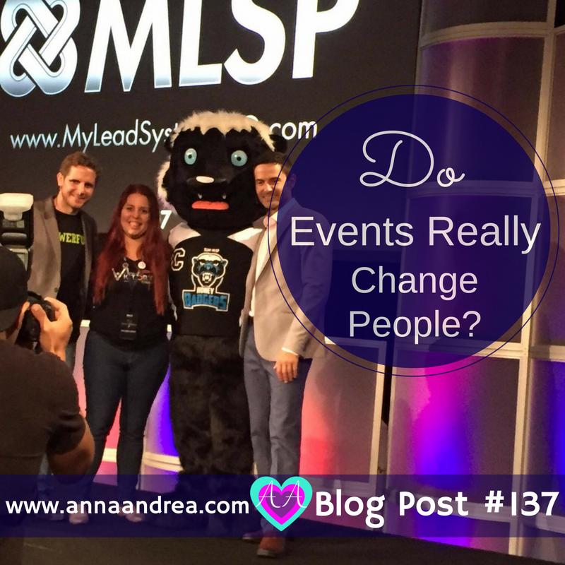 events change people