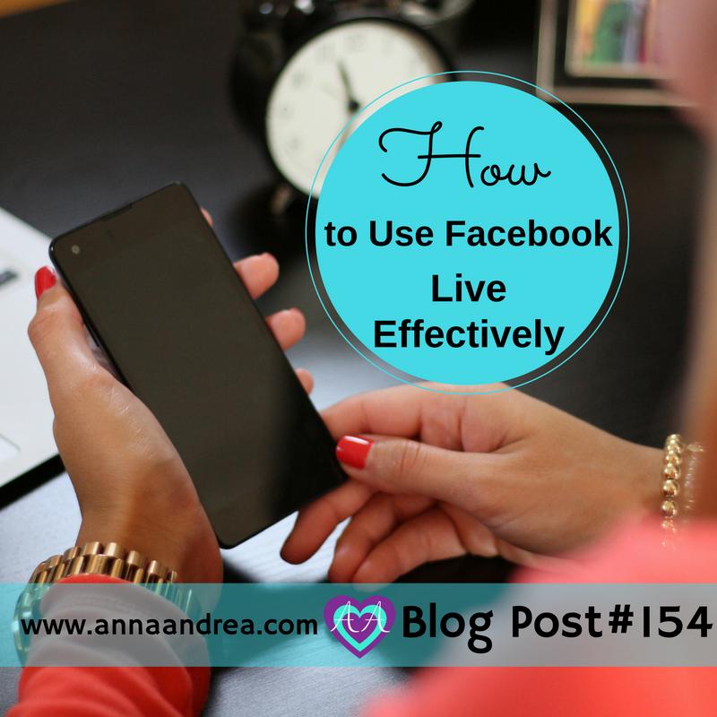 Blog Post#154 Ep. 126 facebook live