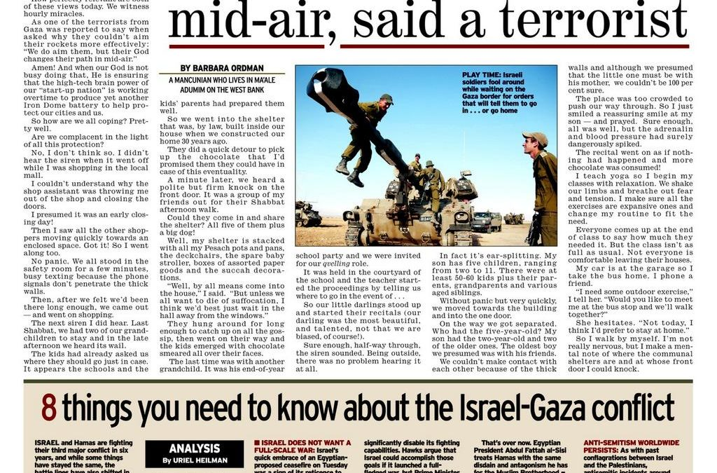 Their God Changes Path Of Rockets in Mid- Air Hamas Terrorist Said