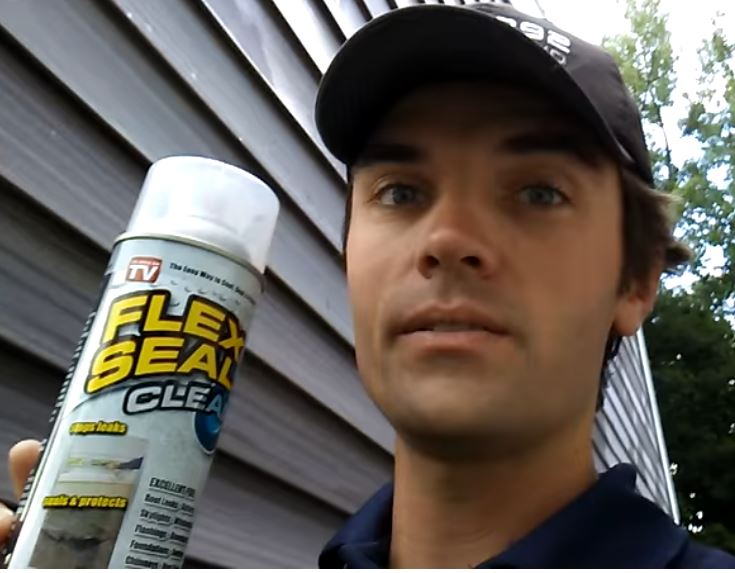 Flex Seal Clear Review - RV Window Leak • Ricky Borrows