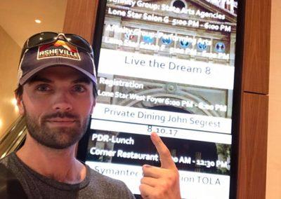 ricky borrows at live the dream 8