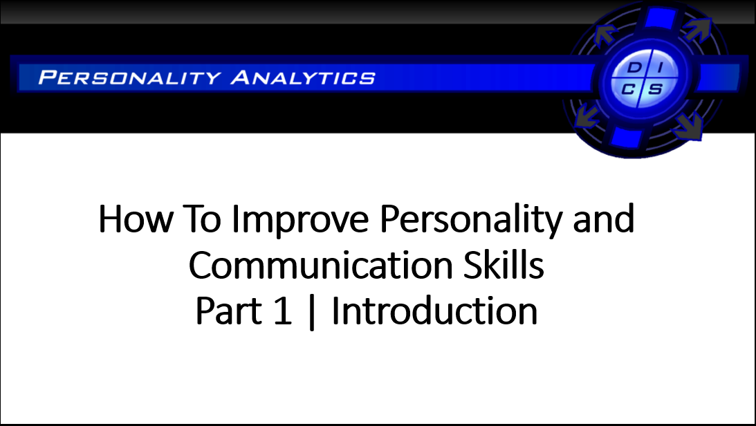 How To Improve Personality and Communication Skills