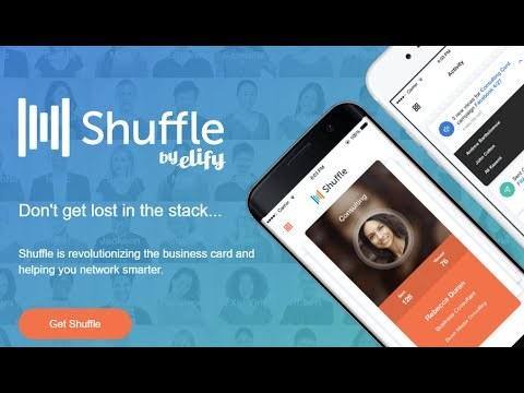Shuffle Digital Business Card