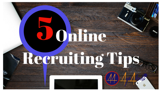 online recruiting tips