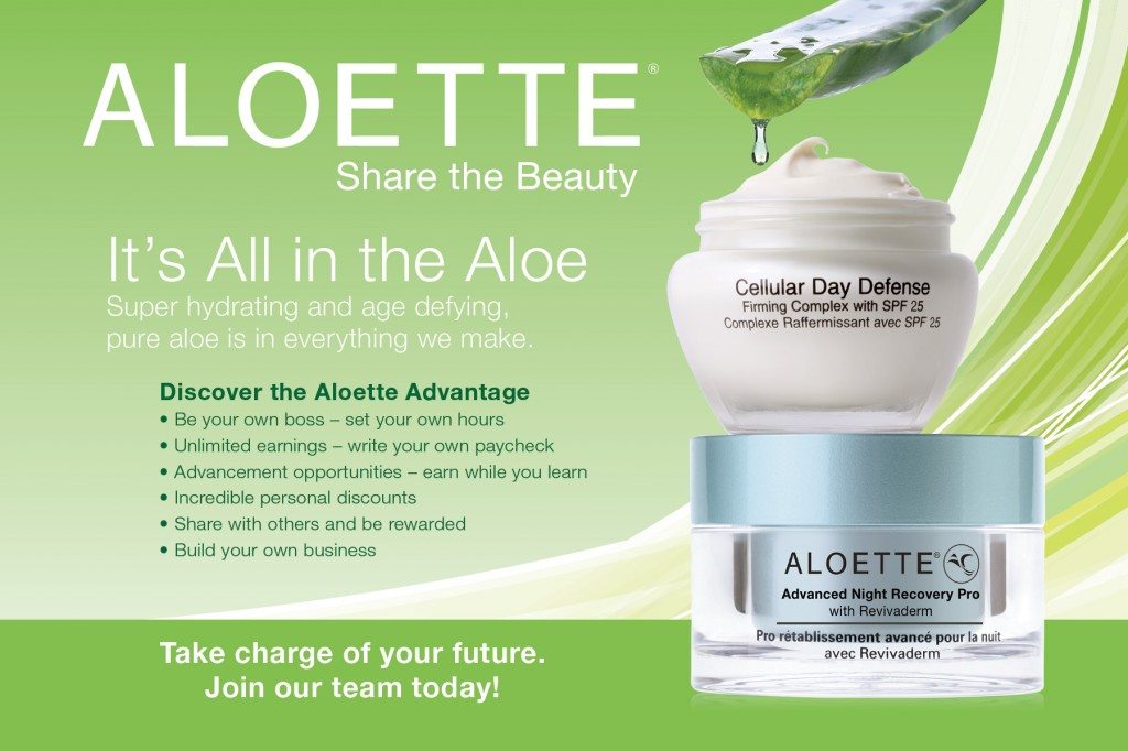 Aloette makeup reviews