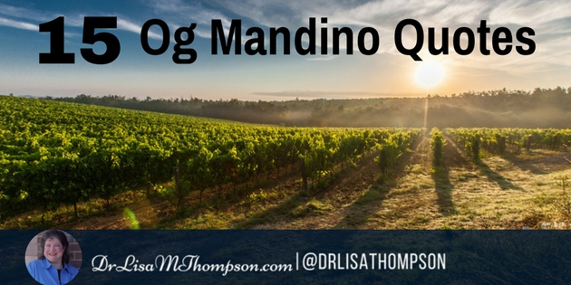 Og Mandino Quotes Fascinating 48 Inspirational Og Mandino Quotes To Always Take Action
