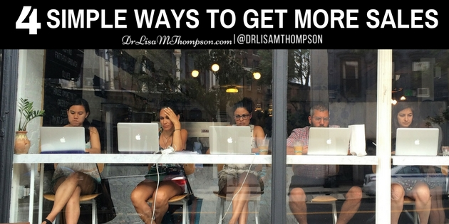 Who Else Wants to Learn 4 Simple Ways to Get More Sales?