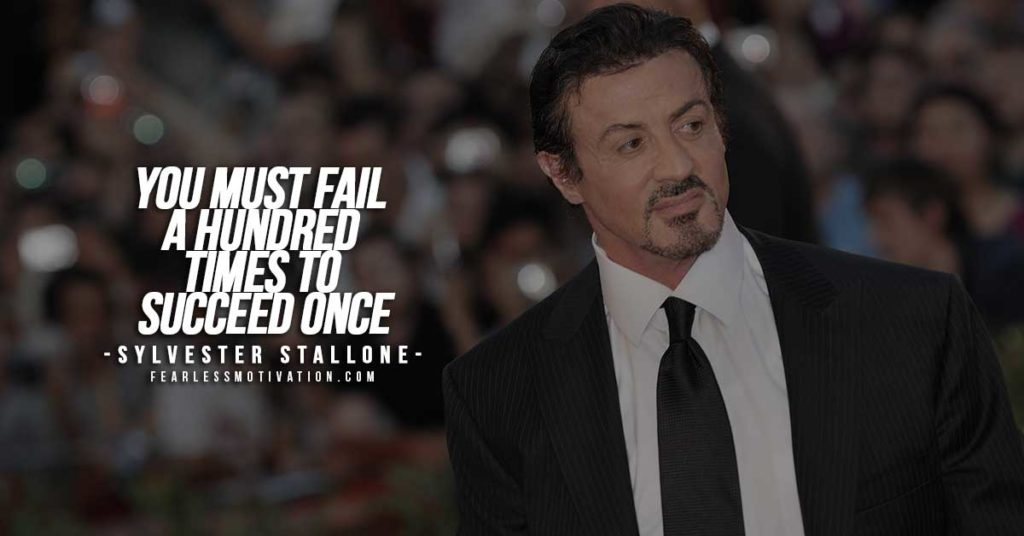 Sylverster Stallone quotes