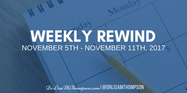 Week in Review: November 5th, 2017 – November 11th, 2017