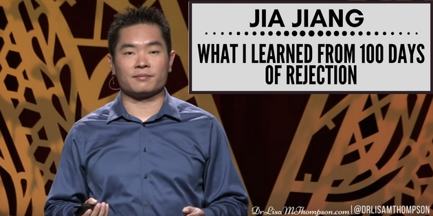 Jia Jiang: What I Learned from 100 Days of Rejection