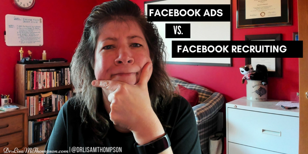 Facebook Ads vs Facebook Recruiting. Which is Better?