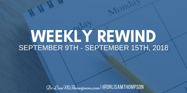 Week In Review: September 9th, 2018 – September 16th, 2018
