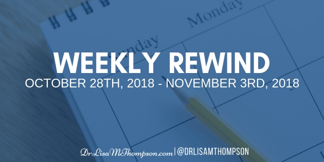 Week In Review: October 28th 2018 – November 3rd, 2018
