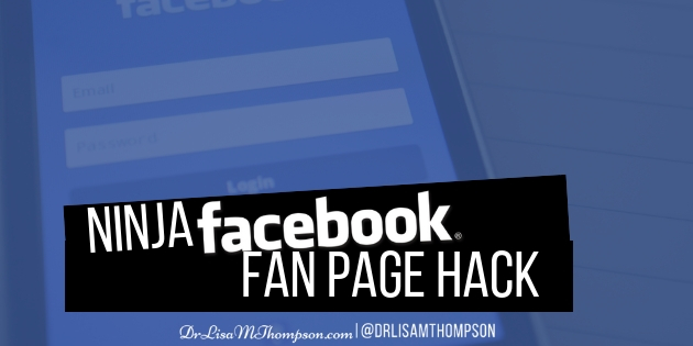NINJA Facebook Fan Page Hack to Grow Social Media Followers