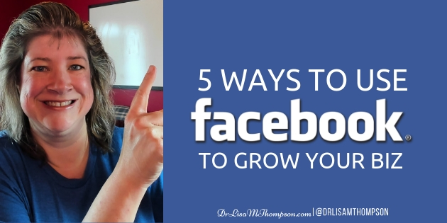 5 Ways to Use Your Facebook Fan Page to Grow Your Business