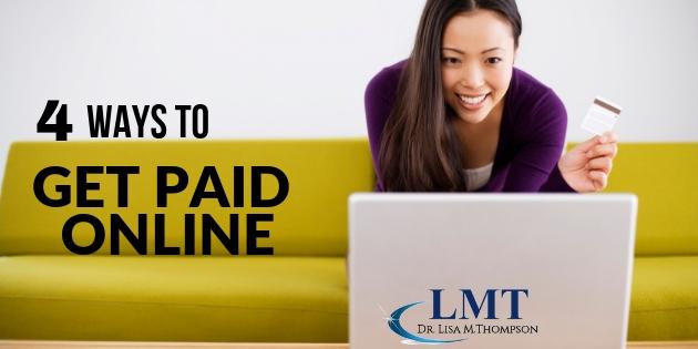 4 Ways to Get Paid Online in Your Home Biz
