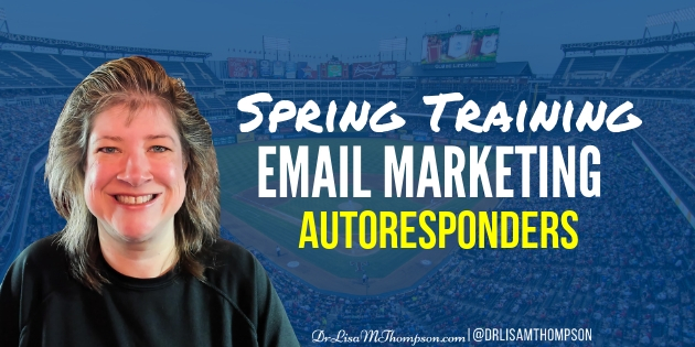 Spring Training Email Marketing | Choosing an Autoresponder