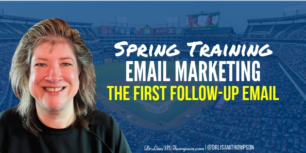 Spring Training Email Marketing | Your First Email to Your List