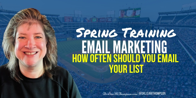 Spring Training Email Marketing | Email Frequency