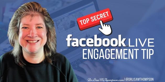 Secret Facebook Live Engagement Tip