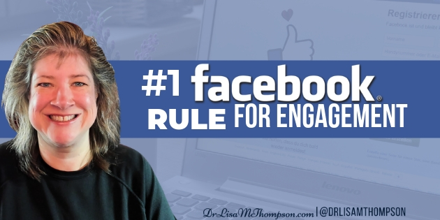 #1 Facebook Rule for More Engagement