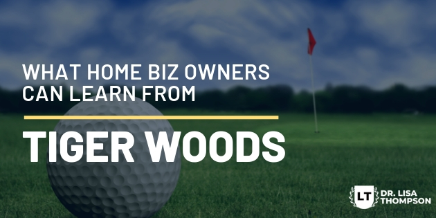 Lessons from Tiger Woods