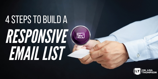 4 Steps to Building a Responsive Email List