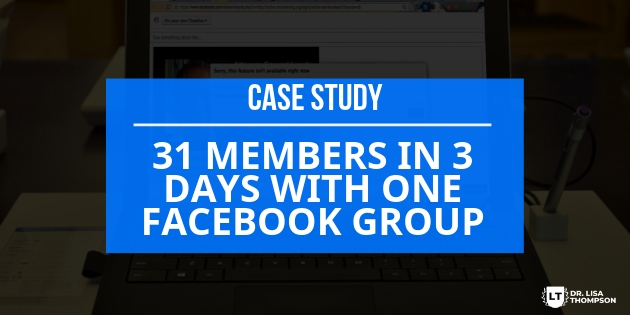 How to Enroll 31 Members in 3 Days With One FB Group