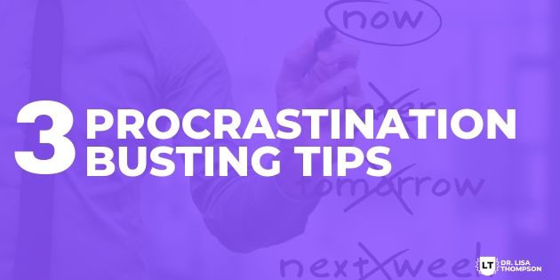 3 Procrastination Busting Tips to Take Massive Action in Your Biz