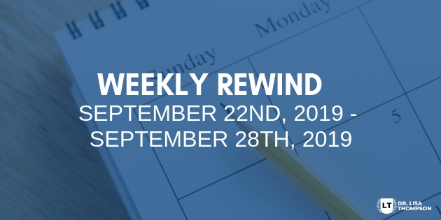 Week In Review: September 29th, 2019 – October 5th, 2019