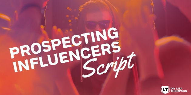 Script for Prospecting Influencers