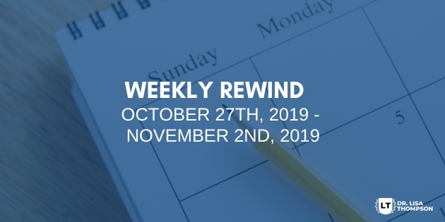 Week In Review: October 27th, 2019 – November 2nd, 2019