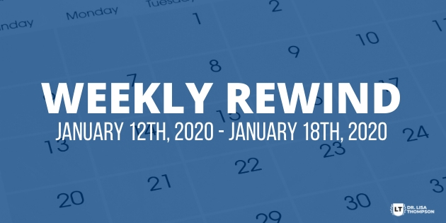 Week In Review: January 12th, 2020 – January 18th, 2020